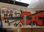 Skrzypce, Violin, Instrument muzyczny, instrumenty muzyczne, zabawkowy, zabawka, zabawki