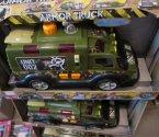 Armor Truck, opancerzona ciężarówka wojskowa, samochód zabawka, samochody zabawki, ciężarówki wojskowe