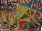 SuperMag, Klocki magnetyczne, fluorescencyjne, świecące w ciemności, zestaw kreatywny, zestawy kreatywne, Super Mag