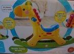 Zabawka Żyrafa dla dzieci, dziecka, muzyczna, świecąca
