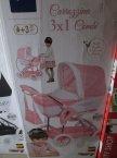 Wózek dla lalek, Wózki dla lalek, 3x1 Combi