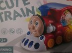 Cute Train, Pociąg, Ciuchcia, Kolejka zabawka
