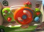 Mini samochodzik, kierownica dla malucha, zestaw edukacyjny, zabawka edukacyjna
