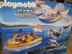 Playmobil zestaw ze statkiem Playmobil zestaw ze statkiem