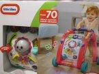 Little Tikes, Interaktywny pchacz, ponad 70 różnych czynności, melodii i dźwięków, zabawka dla dzieci