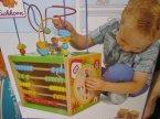 Zabawka edukacyjna dla dzieci, liczydło, zegarek i inne elementy edukacyjne