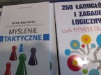 Książka Myślenie taktyczne, Łamigłówki wspomagające, książki edukacyjne