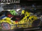 Autko graffiti, zdalnie sterowane, samochód zdalnie sterowany, samochody graffiti, pojazd, pojazdy