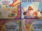 Książeczka, Uczę się: Aniele Boży, Ojcze Nasz, Zdrowaś Maryjo, religijne, książeczki