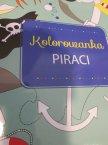 Kolorowanka Piraci, Kolorowanki