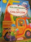 Kolorowanka, Alfabet, Pojazdy, Ekologia, dla Chłopców i inne, Kolorowanki