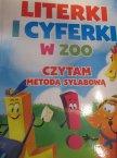 Literki i Cyferki w ZOO, Czytam metoda sylabowa, książka edukacyjna, książki edukacyjne