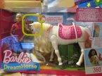 Lalka Barbie, DreamHorse, Koń, konie, Lalka z koniem, jazda konna