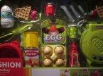 Akcesoria kuchenne do przygotowania tostów, śniadania, zabawa w dom, restaurację, kuchnię