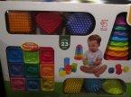 Dumel Discovery, Zestaw edukacyjny dla dzieci, maluchów, Piramidka, Klocki i inne
