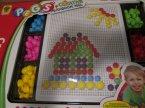 Pegs zabawka do rysowania mozaiek przez ich układanie, mozaika
