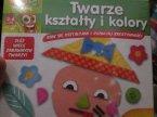 Gra edukacyjna, Loteryjka słowna, Logika 3 w 1, Twarze kształty i kolory i inne gry i zabawki edukacyjne dla dzieci