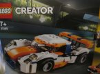 Lego Creator, 31089 Słoneczna wyścigówka, klocki
