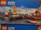 Lego City, 60213 Pożar w dokach, 60207 Pościg policyjnym dronem, klocki