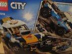 Lego City, 60218 Pustynna wyścigówka, 60212 Płonący grill, klocki
