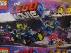 Lego Movie, 70821 Warsztat Emmeta i Benka, 70826 Terenówka Rexa, klocki