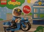 Lego Duplo, 10900 Motocykl policyjny, klocki