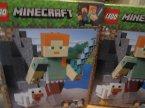 Lego Minecraft, 21149 Minecraft BigFig, Alex z kurczakiem, klocki