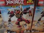 Lego Ninjago, 70665 Mech, samuraj, klocki