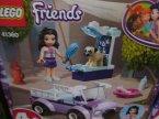 Lego Friends, 41360 Mobilna klinika weterynaryjna Emmy, klocki
