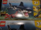 Lego Creator, 31088 Morskie stworzenia, klocki