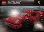 Lego Speed Champions, 75890 Ferrari F40 Competizione, klocki