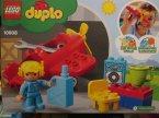 Lego Duplo, 10908 Samolot, klocki