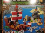 Lego Minecraft, 21151 The End Battle, 21152 Przygoda na statku pirackim, klocki