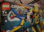 Lego Creator, 31094 Samolot wyścigowy, 31093 Łódź mieszkalna, klocki