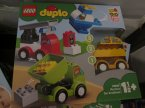 Lego Duplo, 10903 Remiza strażacka, 10886 Moje pierwsze samochodziki, klocki
