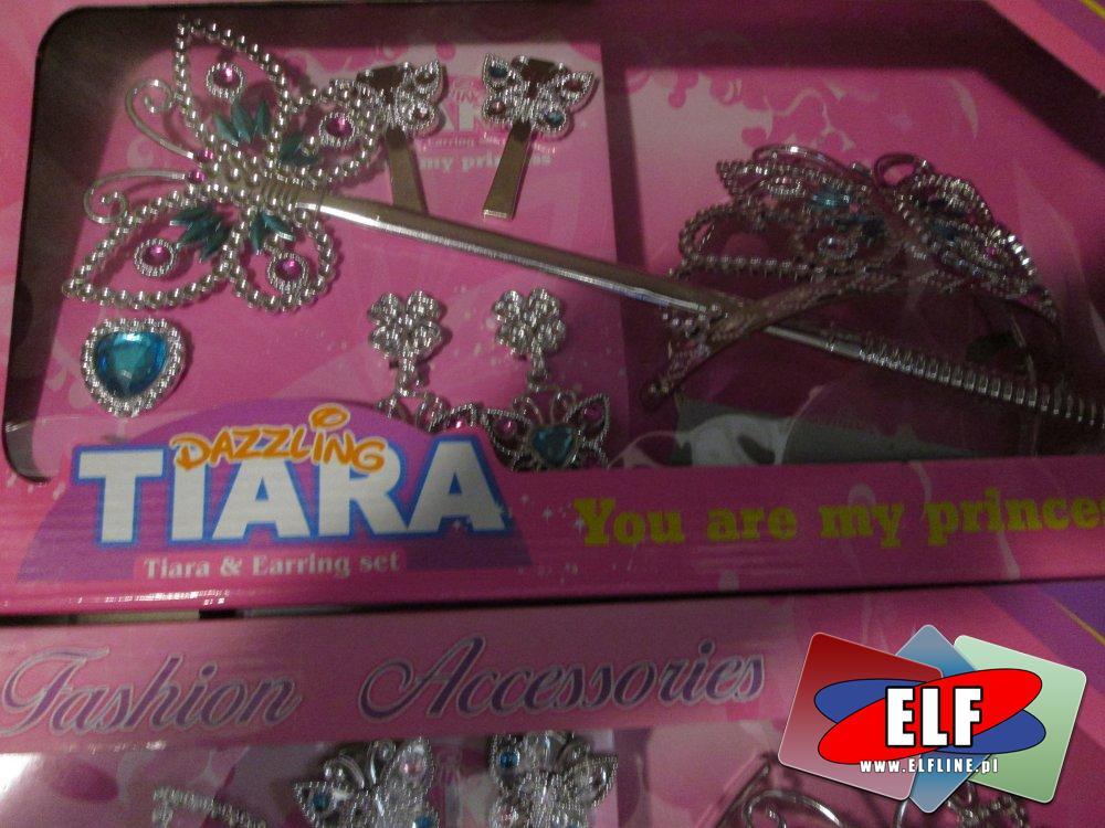 Tiara, Mała księżniczka, Tiary