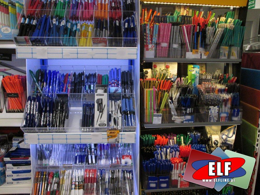 Długopisy, Mazaki, Flamastry, Długopis, Mazak, Flamaster, Akcesoria piśmiennicze, różne rodzaje, szeroki wybór