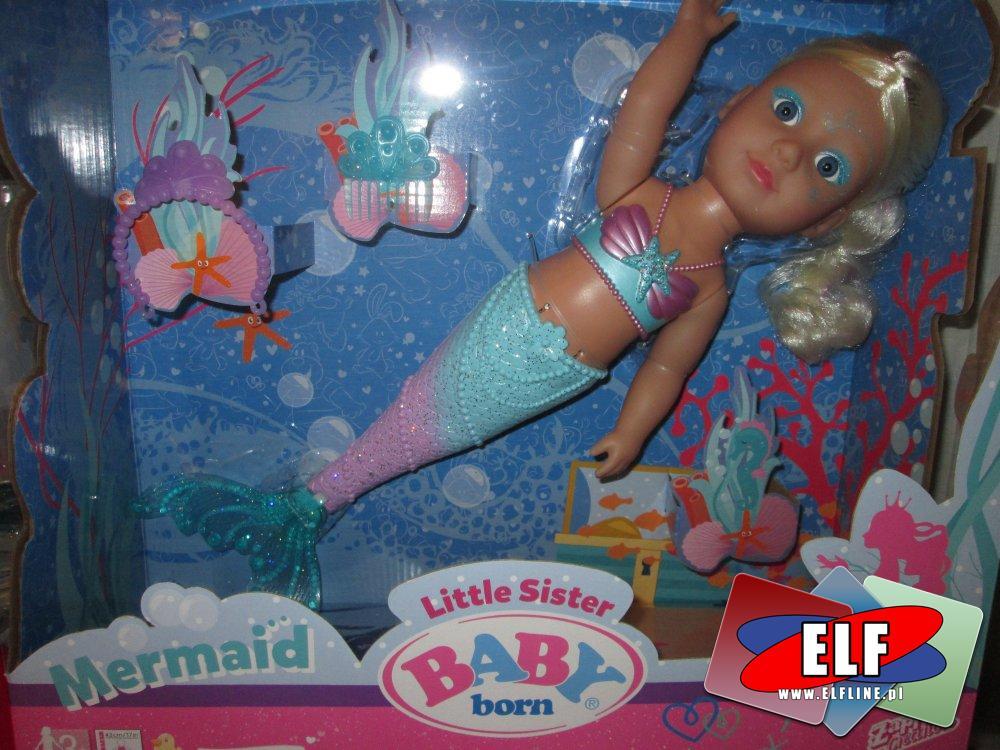 Baby Born, Mermaid, lalka, lalki, syrenka