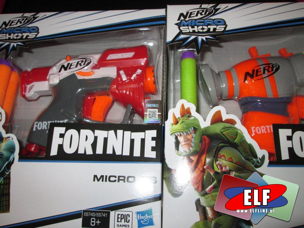 Nerf Fortnite Micro Shot, Pistolet, Pistolety