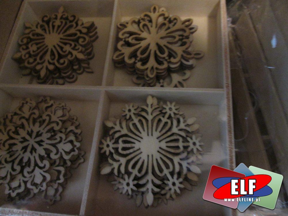 Galeria Papieru, ozdoby w woreczkach, świąteczne i inne, ozdoba