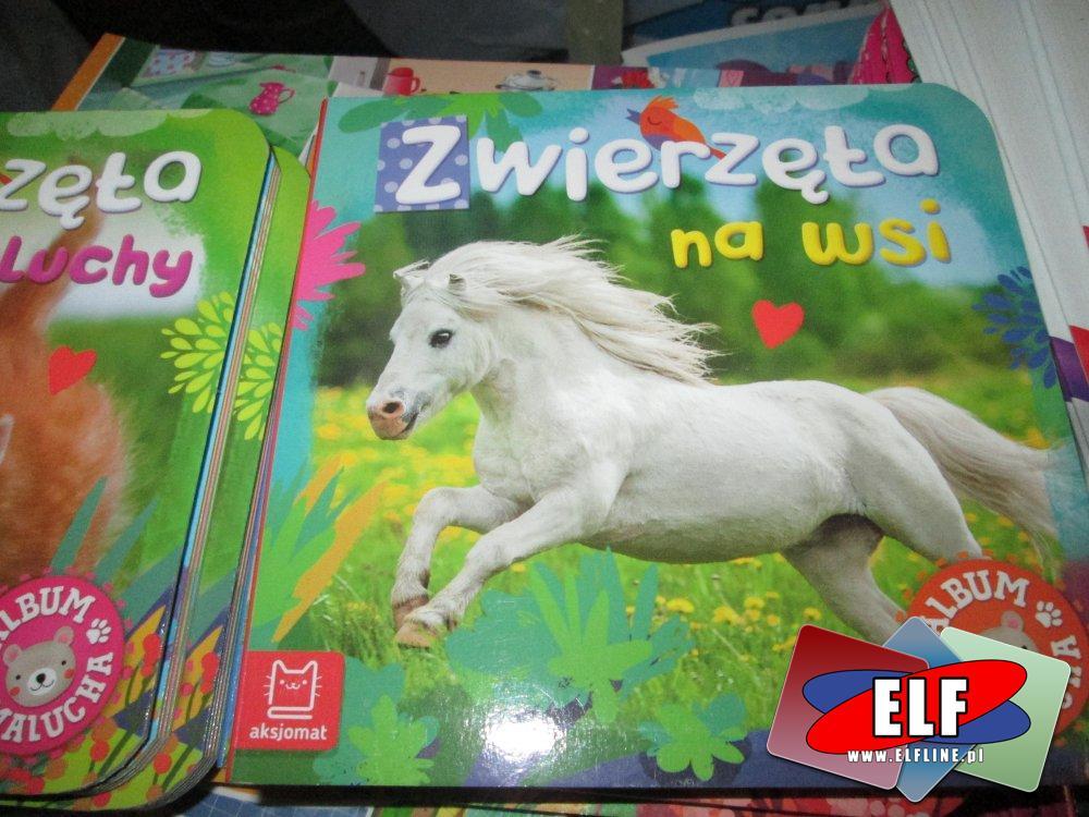 Kaligrafia, zwierzęta na wsi i inne, Książka edukacyjna, Książki edukacyjne