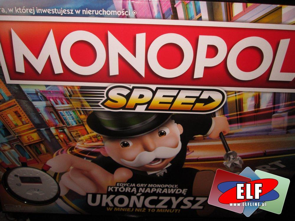 Gra Monopoly speed, gry