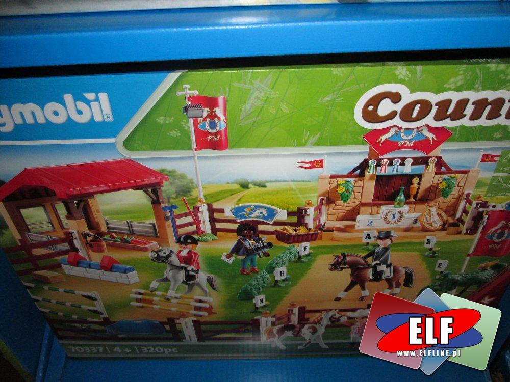 Playmobil Country, 70337 Turniej jeździecki z konikami, klocki, zabawki