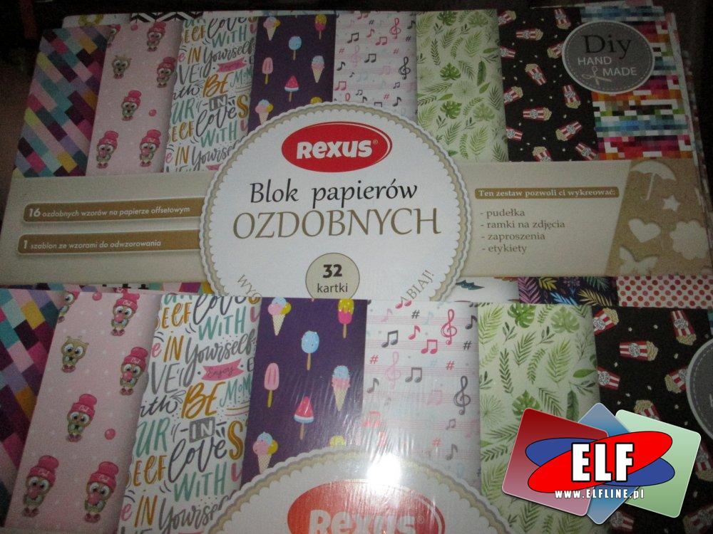 Blok papierów artystycznych, bloki papierowe, papier artystyczny, papier ozdobnym, papiery ozdobne
