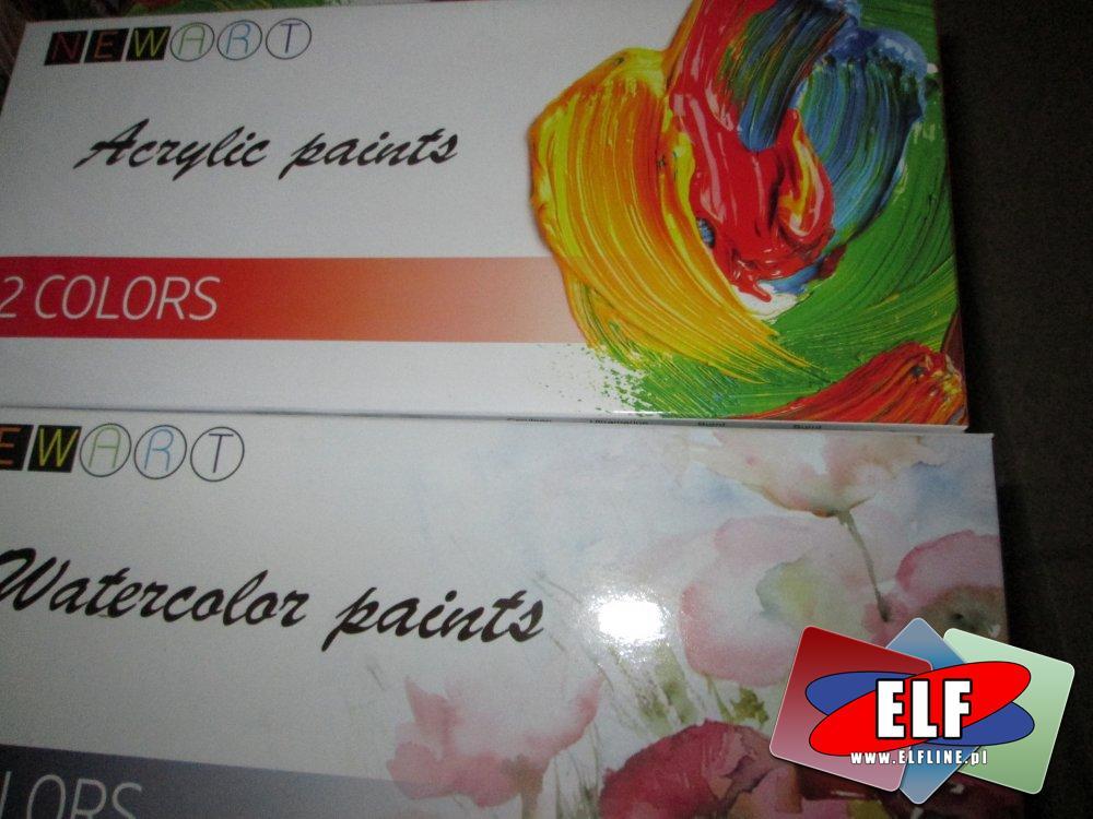 Acrylic Paints, Farby akrylowe, NewArt