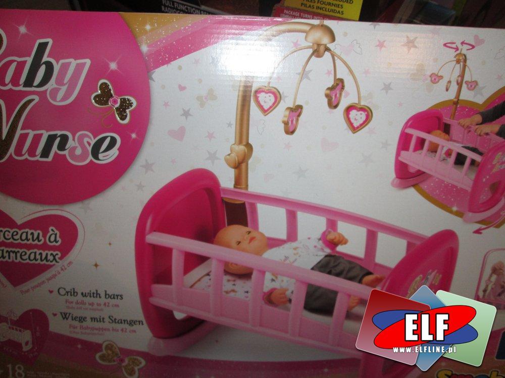 Baby Nurse, Łóżeczko, lalka bobasa, łóżeczka, lalka bobas, lalki
