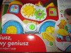 Clementoni Baby, Mały geniusz, zabawka, uczy i bawi, zabawki edukacyjne, zabawka edukacyjna, samochodzik