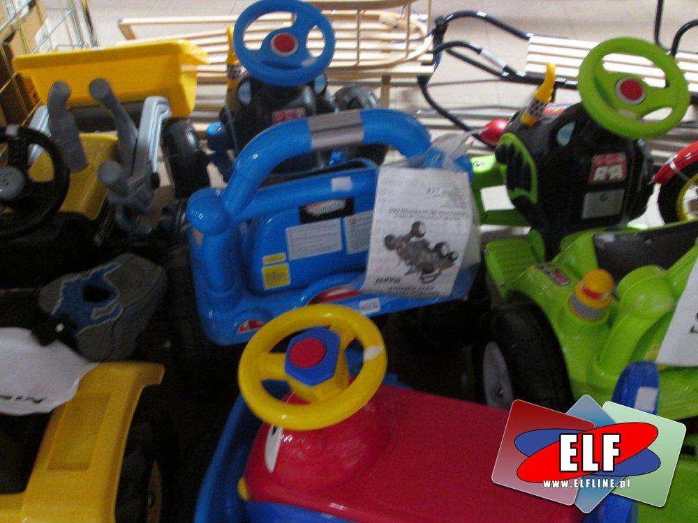 Konik na biegunach, Worek bokserski, Plastikowe kulki, Rowerki, Hulajnogi i inne zabawki