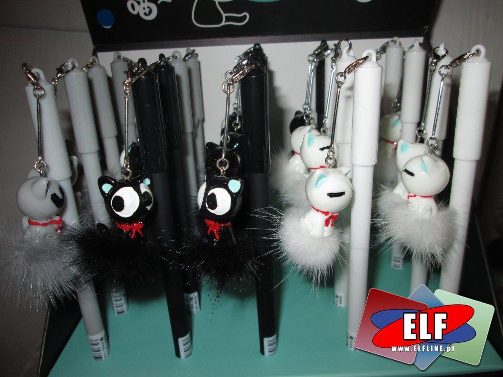 Długopis, Długopisy z kotkami, króliczkami itp, zawieszkami ozdobnymi