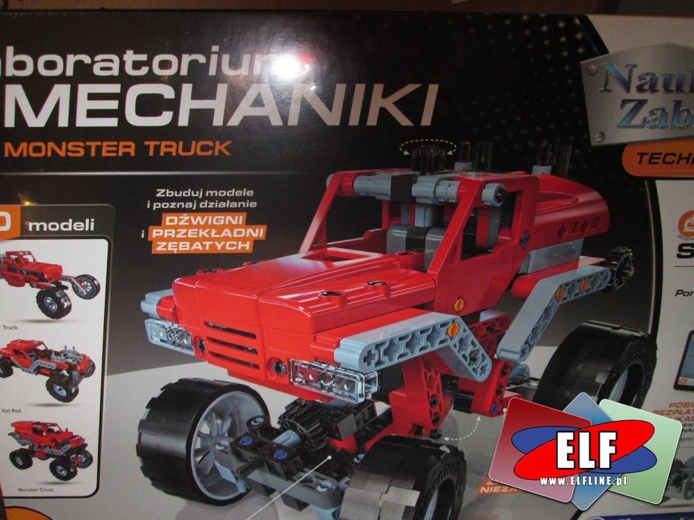 Laboratorium Mechaniki, zabawki kreatywne, samochód i inne